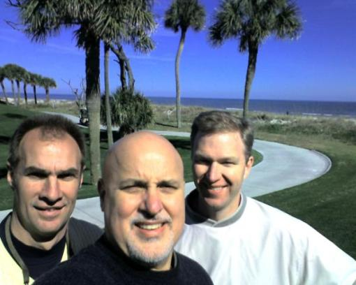 Me and two fellow School Board members (Jerry and Steve) in Hilton Head