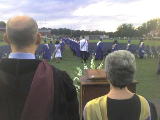 My view of Graduation!