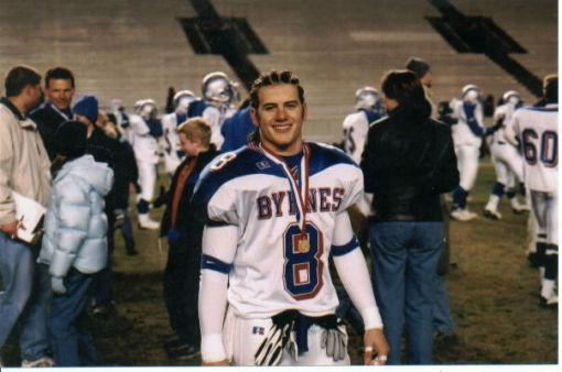 One of many state championships at Byrnes HS