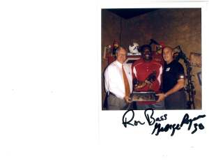 Ron Bass (Sunshine from Remember the Titans) George Rogers and Garry
